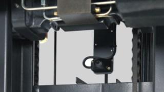 Hubgerüstkette eines Linde Schubmaststaplers