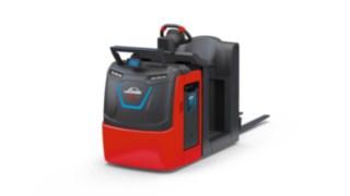 Der Linde BlueSpot™ des V08 Kommissionierers von Linde Material Handling erhöht die Sicherheit im Betrieb.