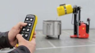 Video zum ferngesteuerten Fasshandling