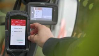 Die Linde Truck Call App im Einsatz