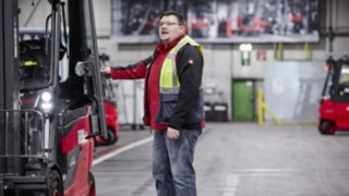 Flottenmanagement Lösung Linde connect im Einsatz beim Automobilzulieferer SMP