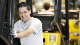 Christian Blaha, Fertigungsmechaniker in der Fahrzeugmontage