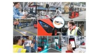 Auf der LogiMAT 2019 zeigt Linde Material Handling, wie Betriebe mit Industrie-4.0-Technologien erfolgreicher werden