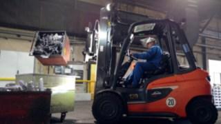 Der Dieselstapler H30 im Einsatz bei Bohai Trimet Automotive