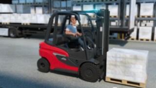 Animation des Dieselstaplers H20 - H35